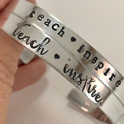 Teacher Gift Bracelet