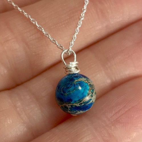 Earth Pendant Necklace