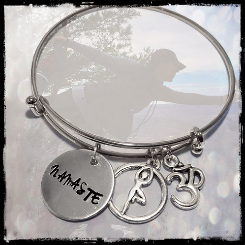 Namaste Bracelet Yogi Bracelet Custom