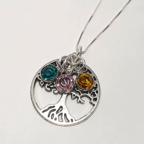 Family Tree Necklace for Mom