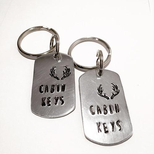 Cabin Life Keychain