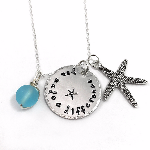 Starfish Story Necklace