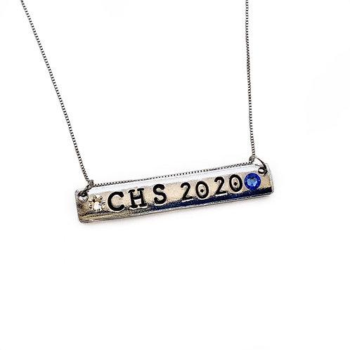 CHS 2020 Bar Necklace