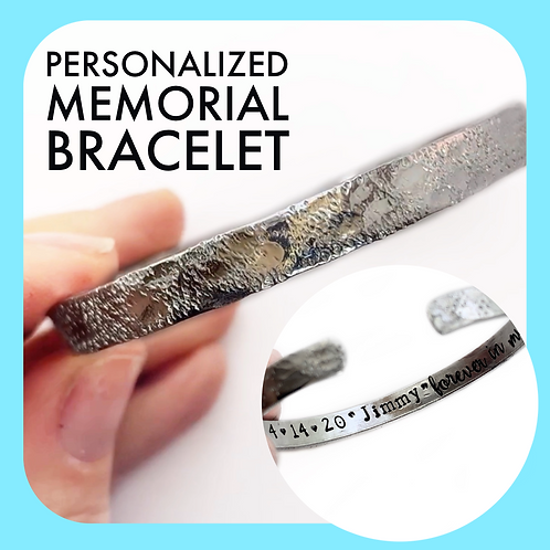 Personalized Memorial Bracelet