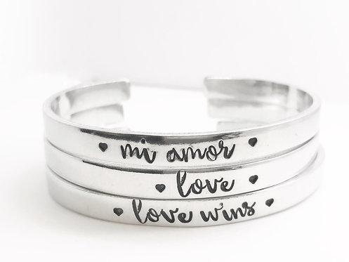 Love Cuff Bracelet