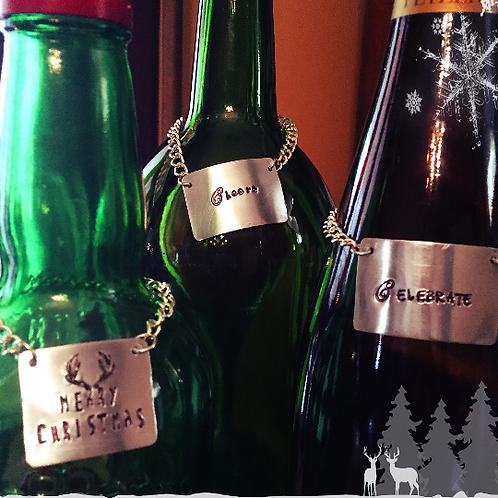 Hostess Gift Wine Gift Bottle Charms