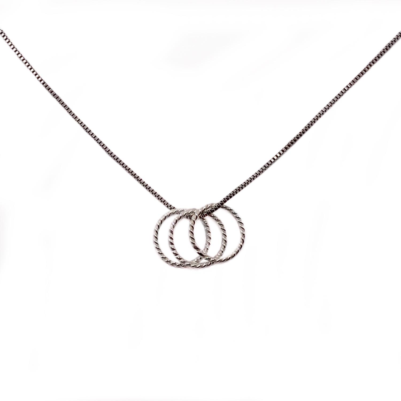 Thumbnail: Be Present Necklace circles
