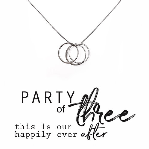 Party of 3 Necklace