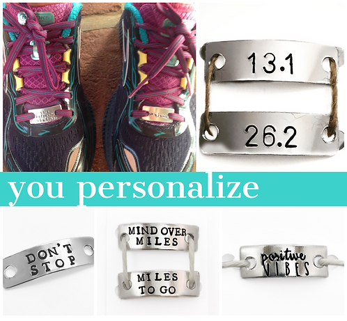 Running Shoe Tag Personalized