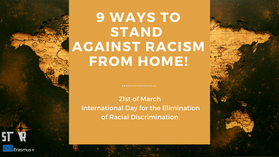 9 ways to stand against racism from home