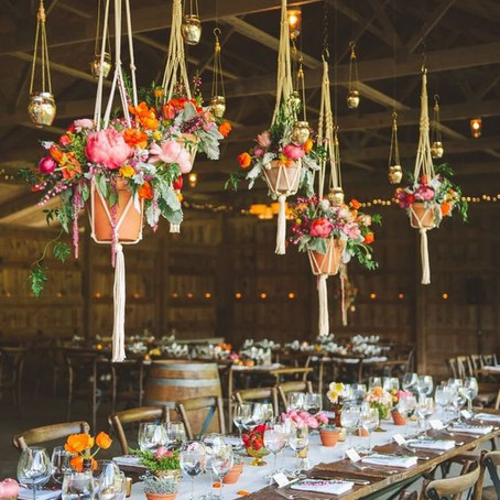 9 ways to use macrame at your wedding