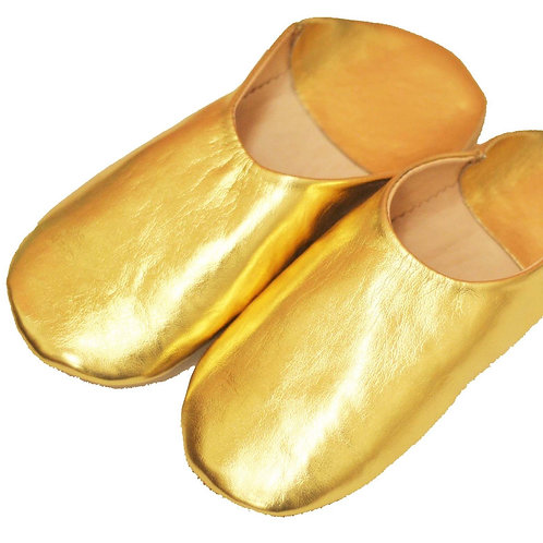バブーシュ Simple ゴールド