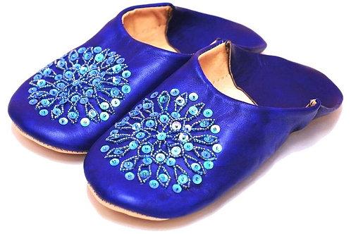 バブーシュ   Zahara ブルー