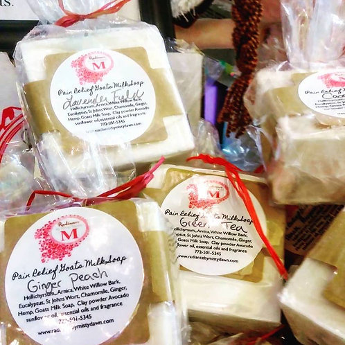 Enhanced Healing Hands Goat Milk Soap