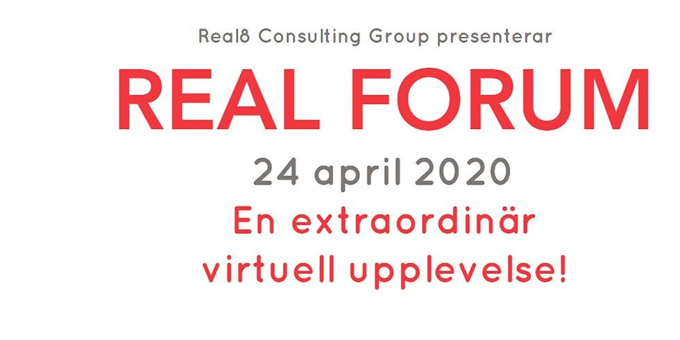 Inspelningar från Real Forum 2020