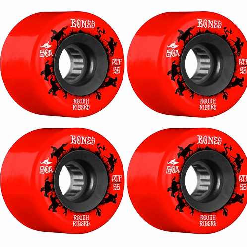 "RUEDAS BONES ""ROUGHT RIDERS"" 56MM 80A"