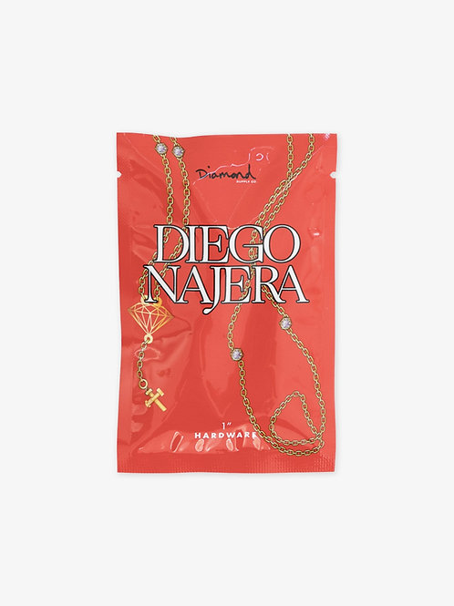 "TORNILLOS DIAMOND ""DIEGO NAJERA PRO""  1"" GOLD"