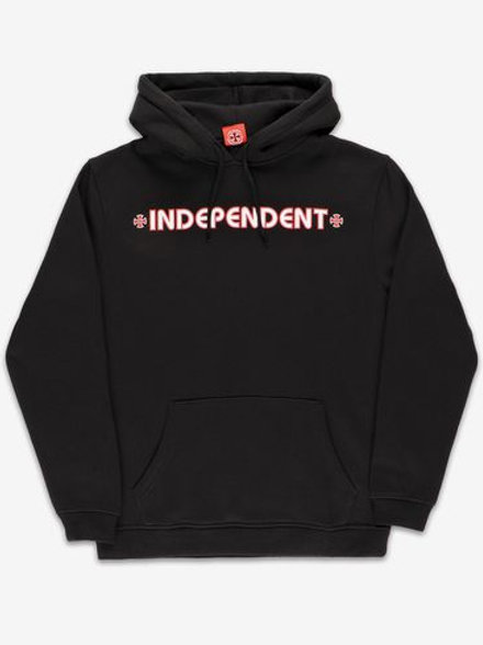 "SUDADERA INDEPENDENT ""BAR CROSS"" BLACK"