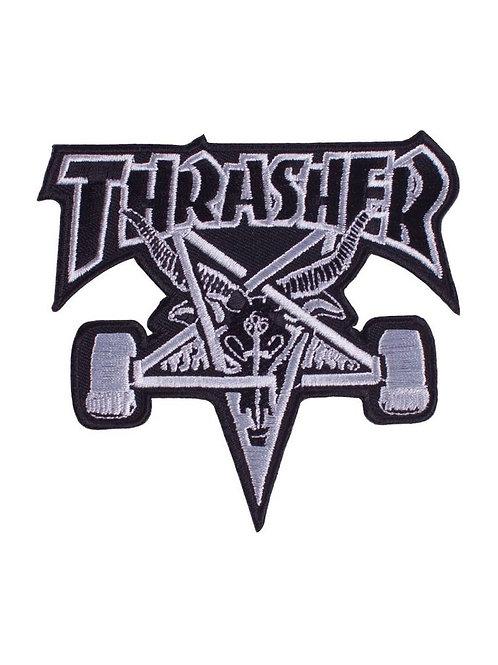 """PARCHE THRASHER """"SKATE GOAT"""""""
