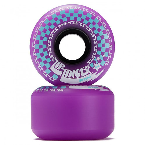 "RUEDAS KROOKED  ""ZIP ZINGER""  80DU 54MM"