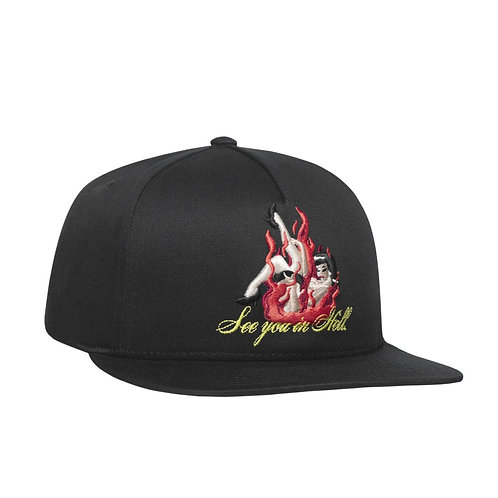 "GORRA ""HUF"" SEE YOU IN HELL"