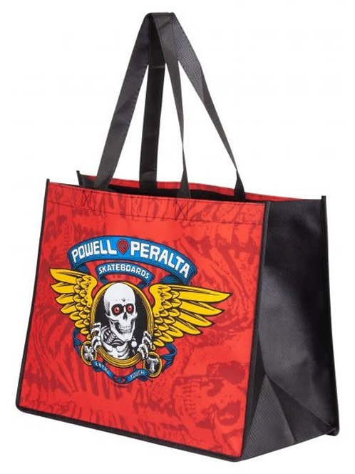 """BOLSO POWELL PERALTA """"WINGED RIPPER RED 12 X 16"""