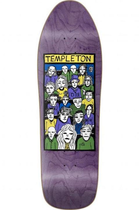 """TABLA NEW DEAL """"TEMPLETON CROWD"""" 10.125"""