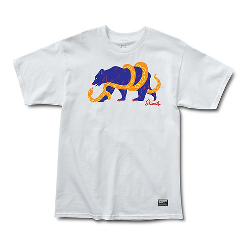 "CAMISETA GRIZZLY ""BIG GAME"" WHITE"