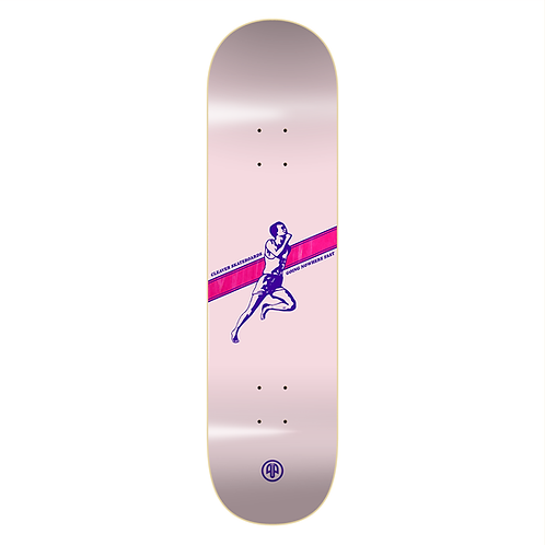 """TABLA CLEAVER """"GOING NOWHERE FAST"""" 8.1 PINK"""