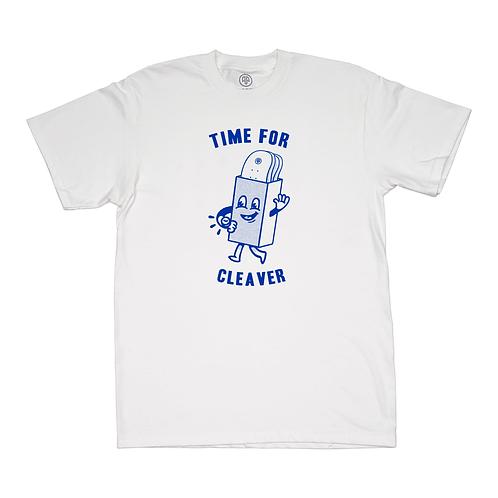 "CAMISETA CLEAVER ""TIME FOR"" WHITE"