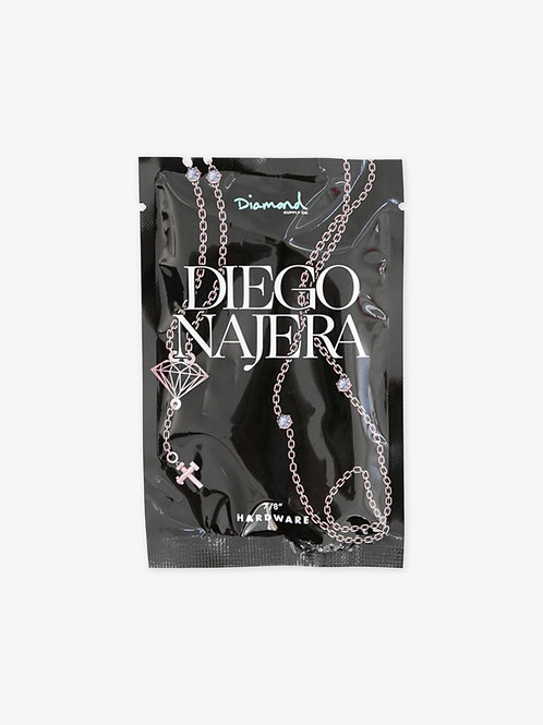 "TORNILLOS DIAMOND ""DIEGO NAJERA PRO""  7/8"" ROSE GOLD"