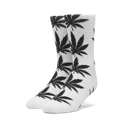 "CALCETINES HUF ""PLANTLIFE"" WHITE"