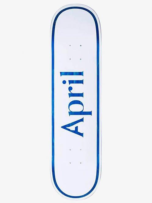 """TABLA APRIL """"LOGO BLUE"""" 8.25"""