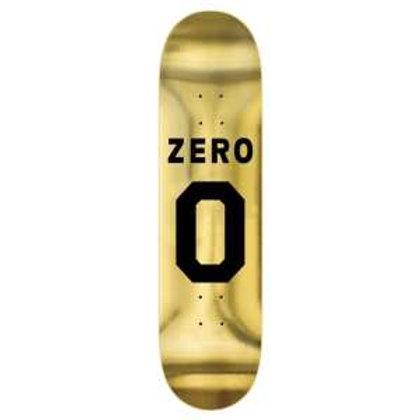 """TABLA ZERO """"NUMERO GOLD INK"""" 8.375"""