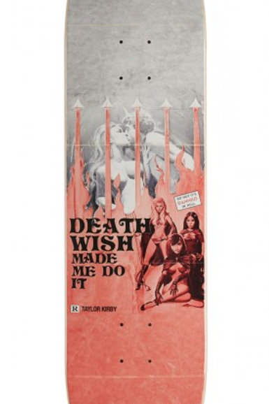 "TABLA DEATHWISH ""KIRBY MADE DO IT"" 8.25"