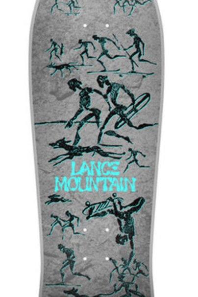 "TABLA ""POWELL PERALTA BONES BRIGADE 12TH SERIES LANCE MOUNTAIN REISSUE 10″"