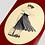 "Thumbnail: TABLA PASSPORT ""RED"" DANCERS SERIES DECK"" 8.25"