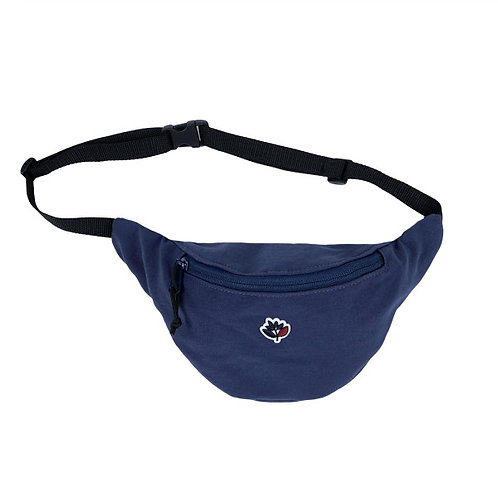 "RIÑONERA MAGENTA ""HIP-BAG"" NAVY"