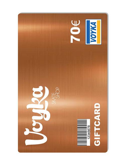 TARJETA REGALO / GIF CARD 70€ -BRONZE