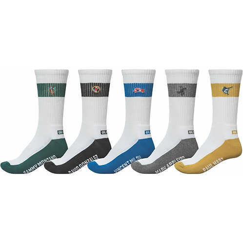 "CALCETINES GLOBE ""TEAM CREW 5 PACK"""