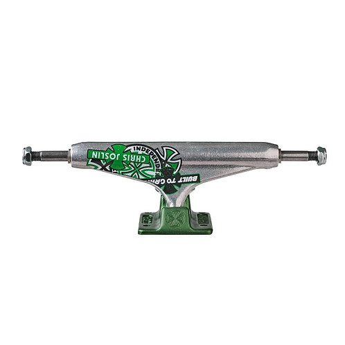 """TRUCKS INDEPENDENT """" STAGE 11 STANDARD JOSLIN FORGED HOLLOW  (SILVER GREEN"""" 139"""