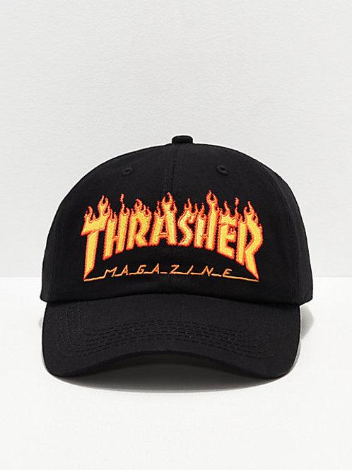 """GORRA THRASHER """"FLAME OLD TIMER"""""""
