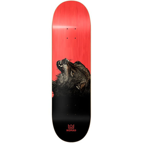 """TABLA NOMAD """"THE WOLF RED"""" 8.25"""