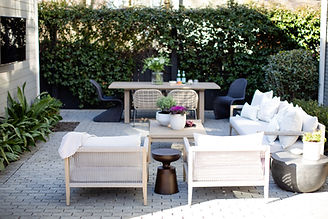 Virginia Highland Project: Courtyard + Dining Area