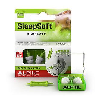 Alpine SleepSoft Earplugs with MiniGrip