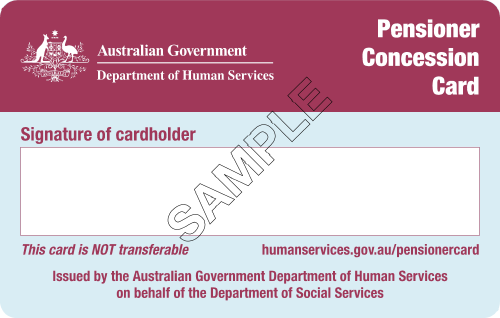 Pension Concession Card Hearing Test