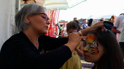 Kids area - Face painting