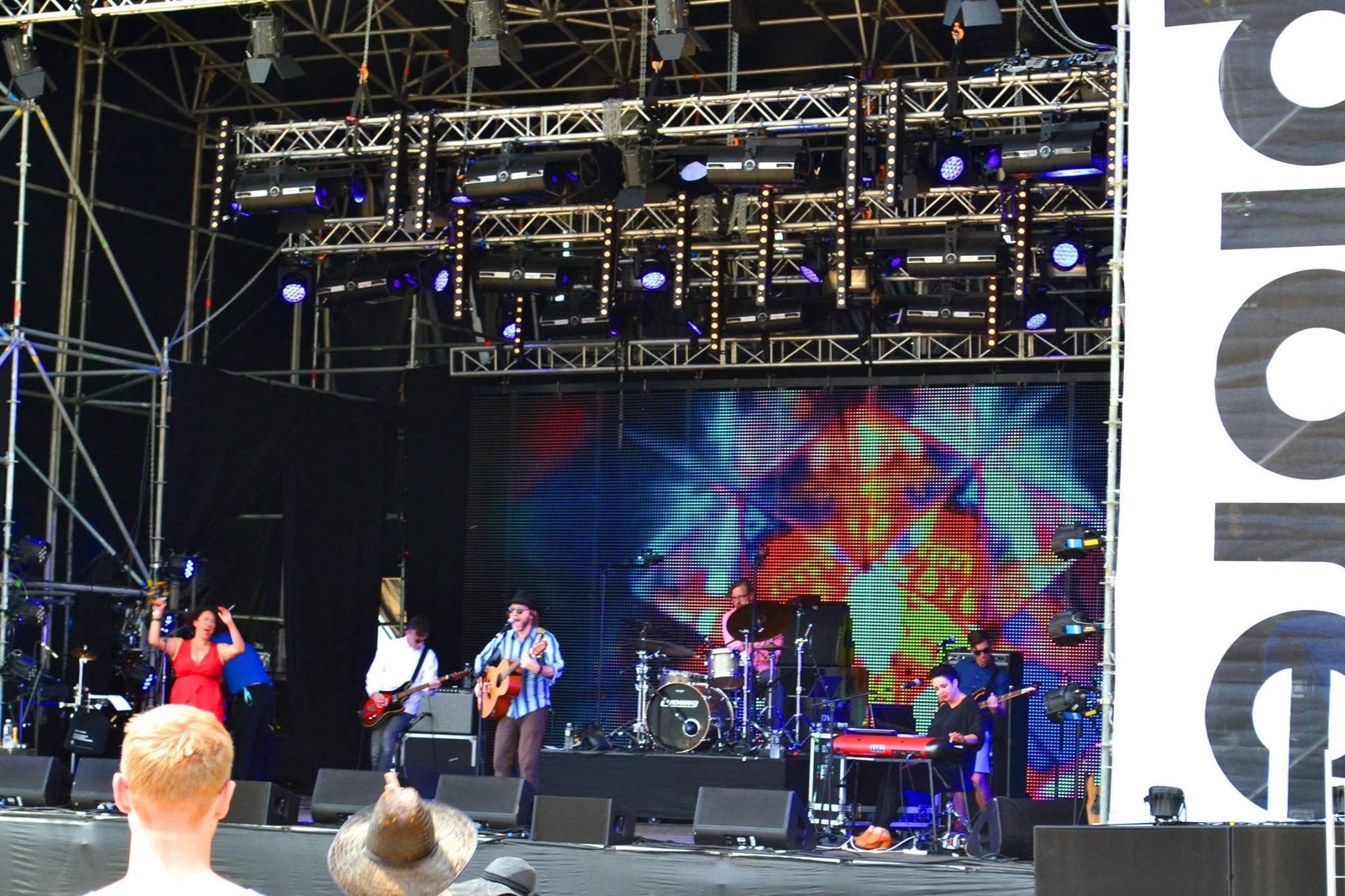 SYD Band at Splore
