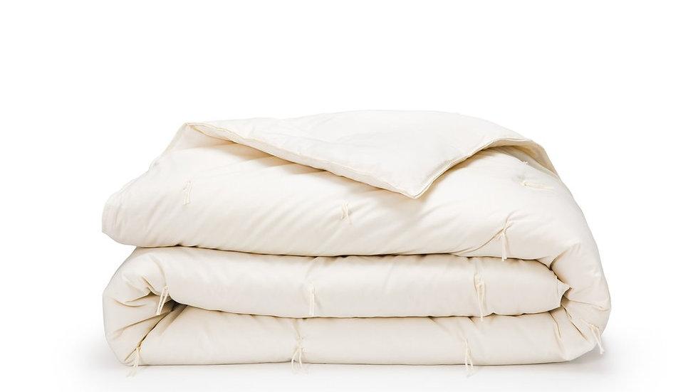 """Shepherd's Sleep: 100% Homegrown Wool Comforter, King Size 108""""x 90"""""""