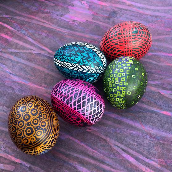 Pysanky: Ukrainian Egg Decorating
